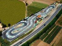 Foto aerea de nuestro circuito