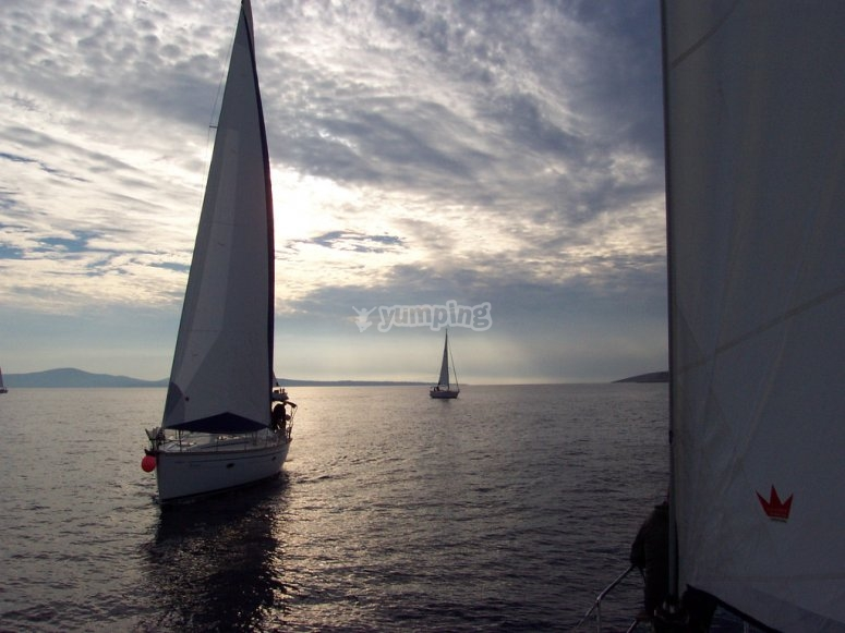 Sailing courses in Madrid