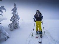 标志马德里BC马德里山区滑雪