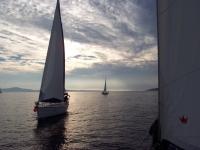 Fin de semana de curso iniciación vela crucero