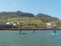 Travesia de sup in Asturias