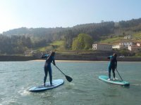 Pair of sup boards in Gijon