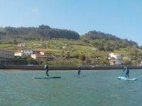 Sup crossing in Asturias