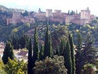 La Alhambra desde fuera