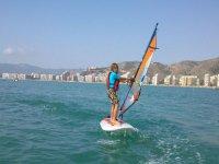 Custom windsurfing class