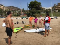 Explanations about the windsurfing team