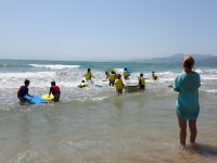 First steps with surfboards