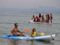 在皮艇与独木舟小瓦伦西亚在瓦伦西亚