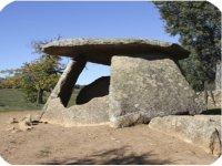 Visitando el dolmen