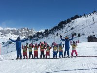 Ski courses for kids in Huesca