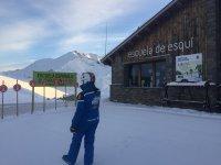 the ski school