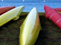 Canoeing upside down