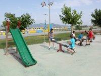 Parque infantil en el circuito