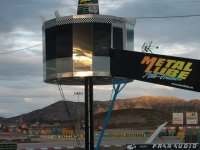 Torre de control en el karting