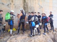 Canyoning for farewell