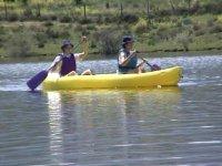 Canoas en pareja