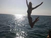 Despues de hacer wakeboard