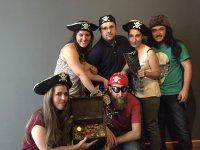 Grupo con el tesoro