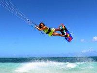 in full kite jump