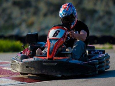 Karting para teambuilding