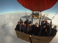 Balloon steered by Manuel Duque