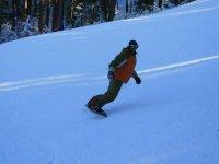 snowboarding en Navacerrada