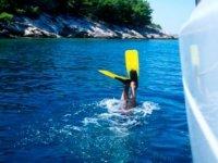 Immersione con snorkeling