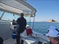 Embarcacion preparada para la pesca