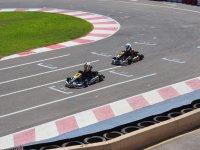 Karts racing in San Javier