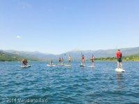 Paddle surf en Lozoya