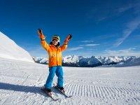 Mini esquiador en Baqueira