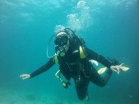 Inmersión desde barco (sin material) en Finisterre