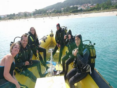 Diving session + tank rental in Finisterre