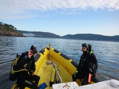 2 dives with tank in Finisterre