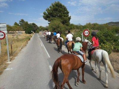 Club de Equitación Es Pas Rutas a Caballo