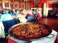 Paella para grupos en Segovia