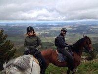 Mirador desde los caballos