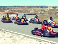 Carrera de karts en Segovia con tiempos