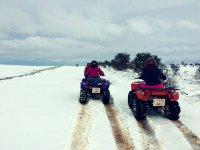 quads en nieve
