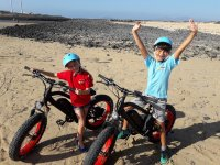 Aventura en bici para los mas peques