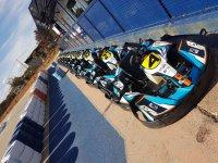 Karts antes de la carrera