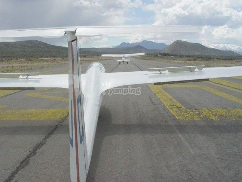 Aprende el vuelo sin motor