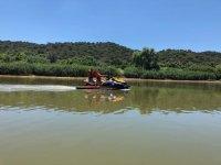 Disfrutando del Guadiana en moto de agua