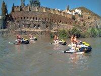 Ruta en moto de agua Puerto La Laja