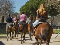 Grupo a caballo en Navalcarnero