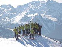 滑雪场监控大官标志卡拉法特滑雪中心