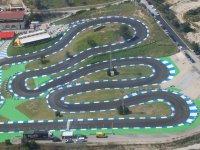 Trazado del circuito de karting