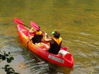 Two-seater kayak in Asturias