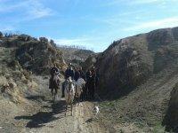 ruta con equinos
