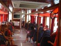 interior del barco